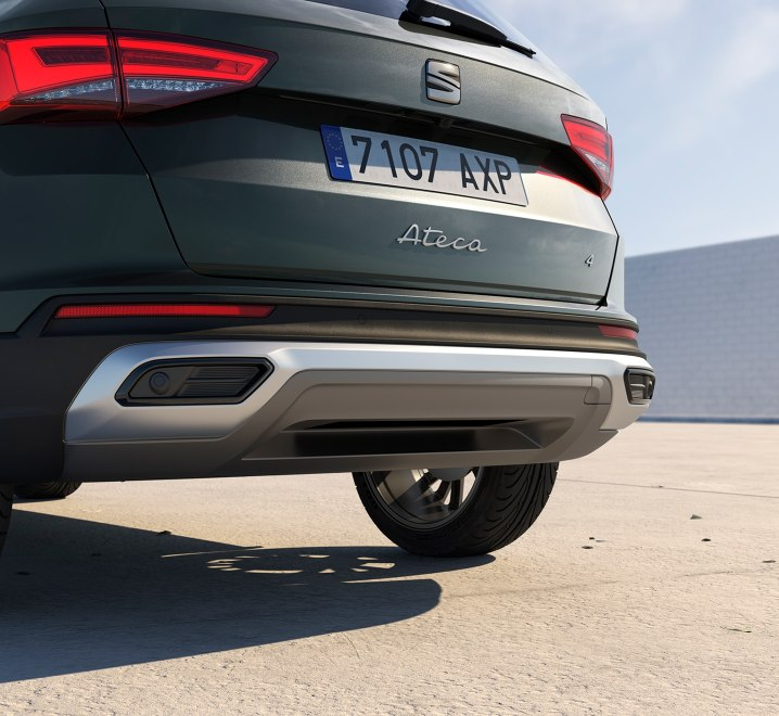 SEAT Ateca SUV exterior image close up view of rear
